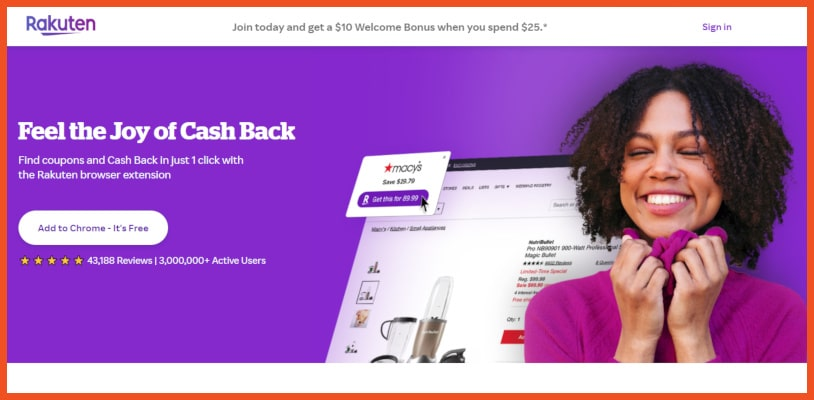Get Paid in Cashback