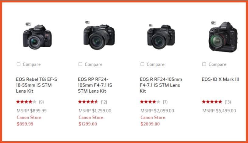 Canon Photography Affiliate Program