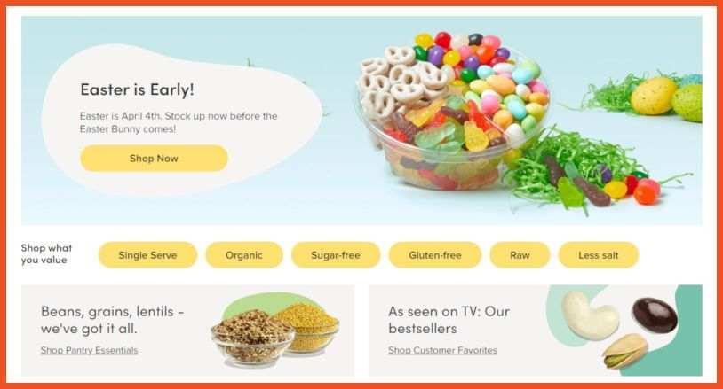 Food Affiliate Programs - Nuts.com