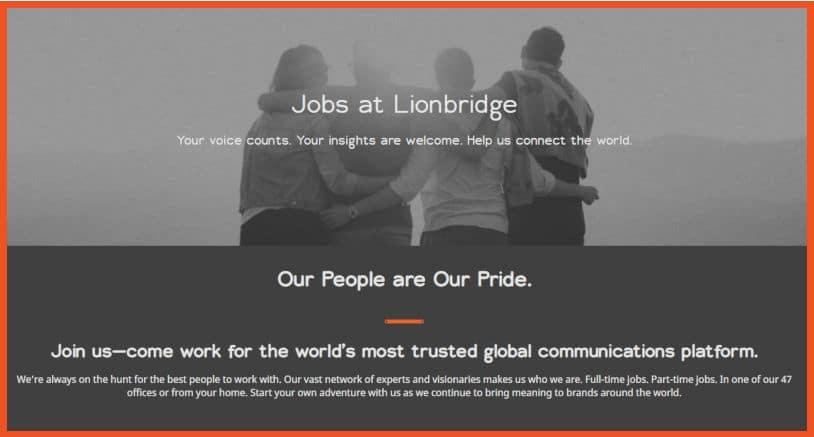 Get Paid To Type - Lionbridge