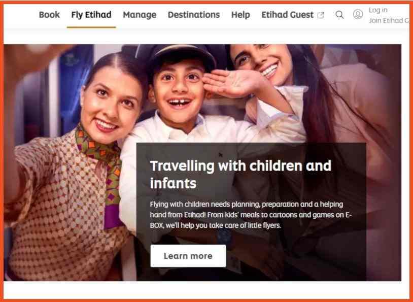 Etihad Airways Affiliate Program