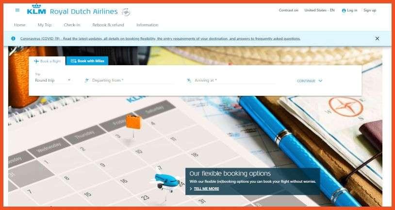 KLM Royal Dutch Airlines Affiliate Program
