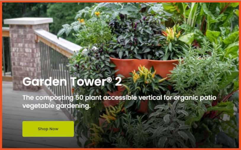 Gardening Affiliate Programs - Garden Tower Affiliate Program