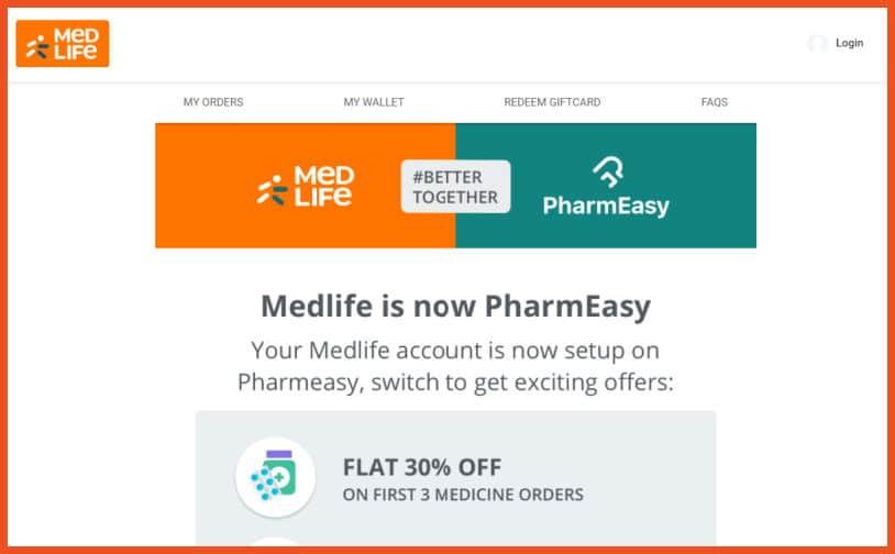 Medical Equipment Affiliate Programs - MedLife /PharmEasy