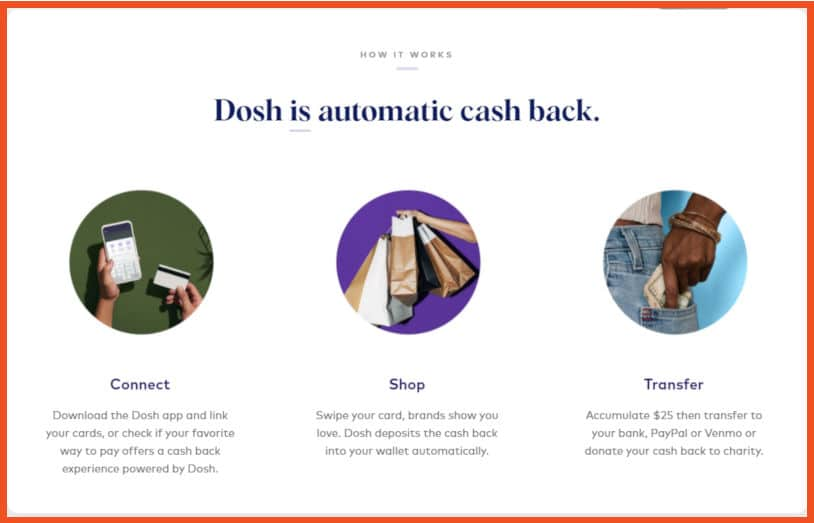 passive income apps - Dosh