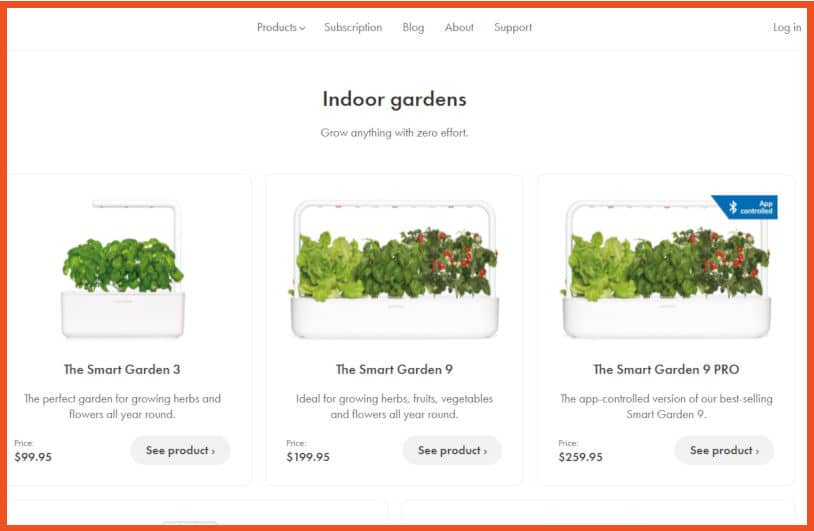 Gardening Affiliate Programs - Click & Grow Affiliate Program