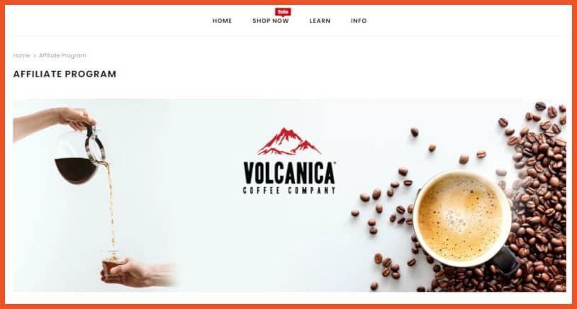 Volcanica Coffee Affiliate Program