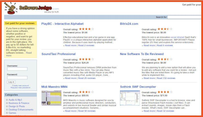 Get Paid to Write Reviews - Software Judge