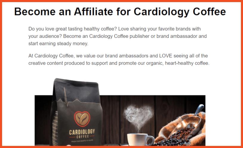 Coffee Affiliate Programs - Cardiology Coffee Affiliate Program