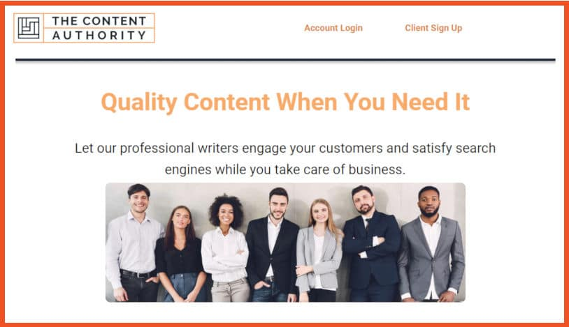 The Content Authority