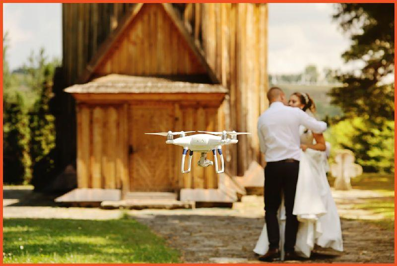 Provide Drone Wedding Photography Services
