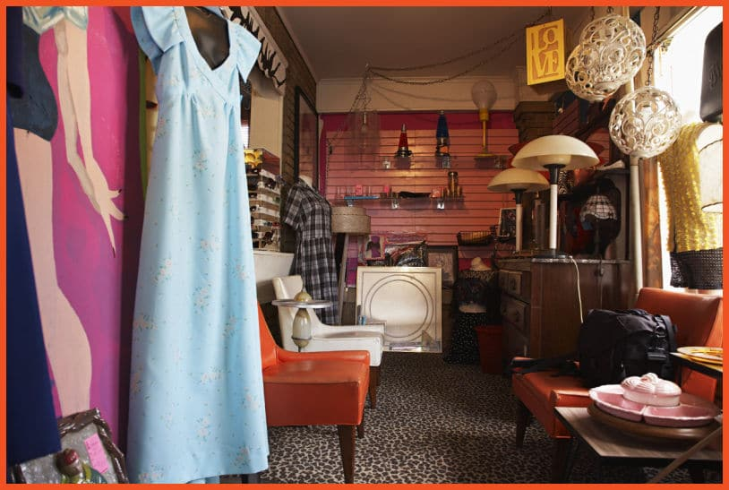Things to Look for at a Thrift Store - Home Decor