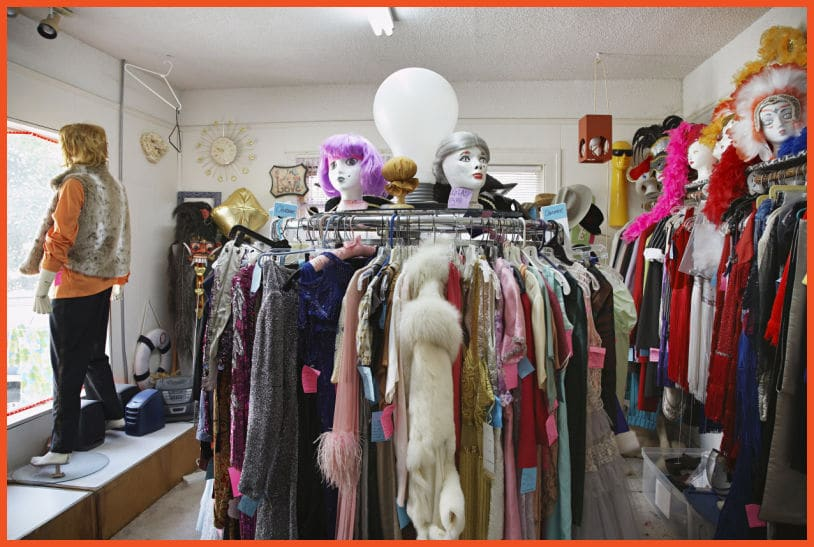 Things to Look for at a Thrift Store - Anything with Tags