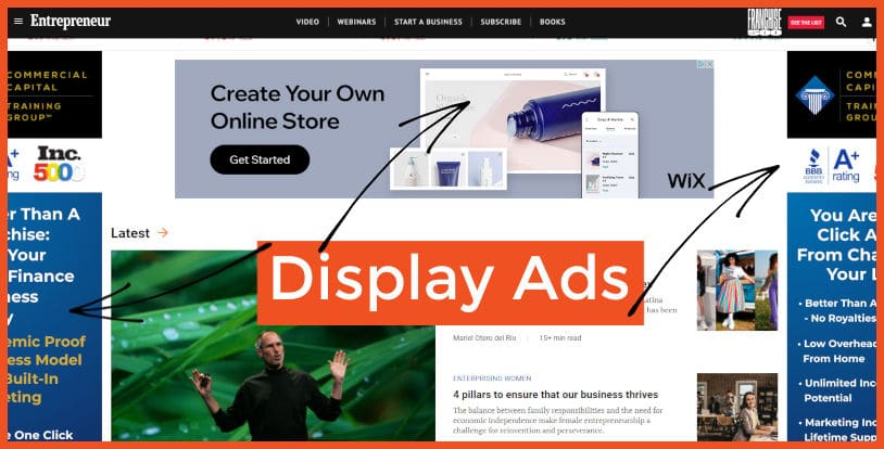 Monetize with Display Advertising