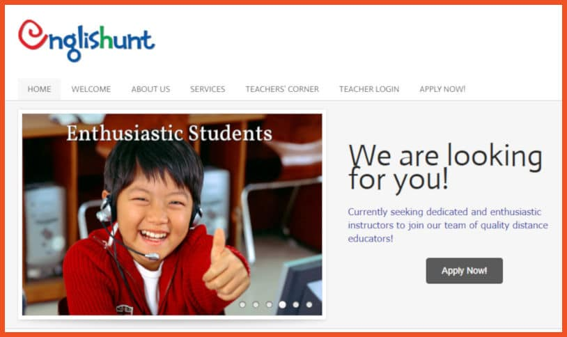 Sites to Teach English - Englishunt