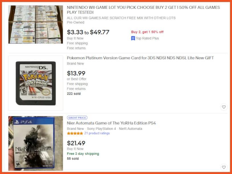 Sell video games online - eBay
