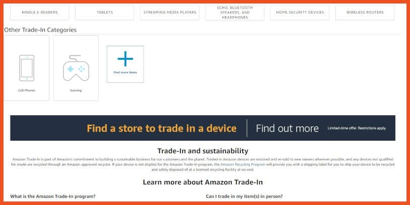 Sell video games online - Amazon Trade-In Program