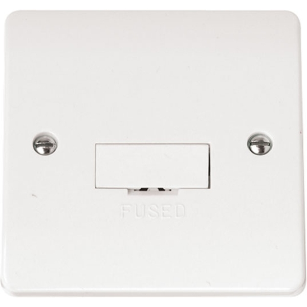 3A Fused Connection Unit (without flex outlet)