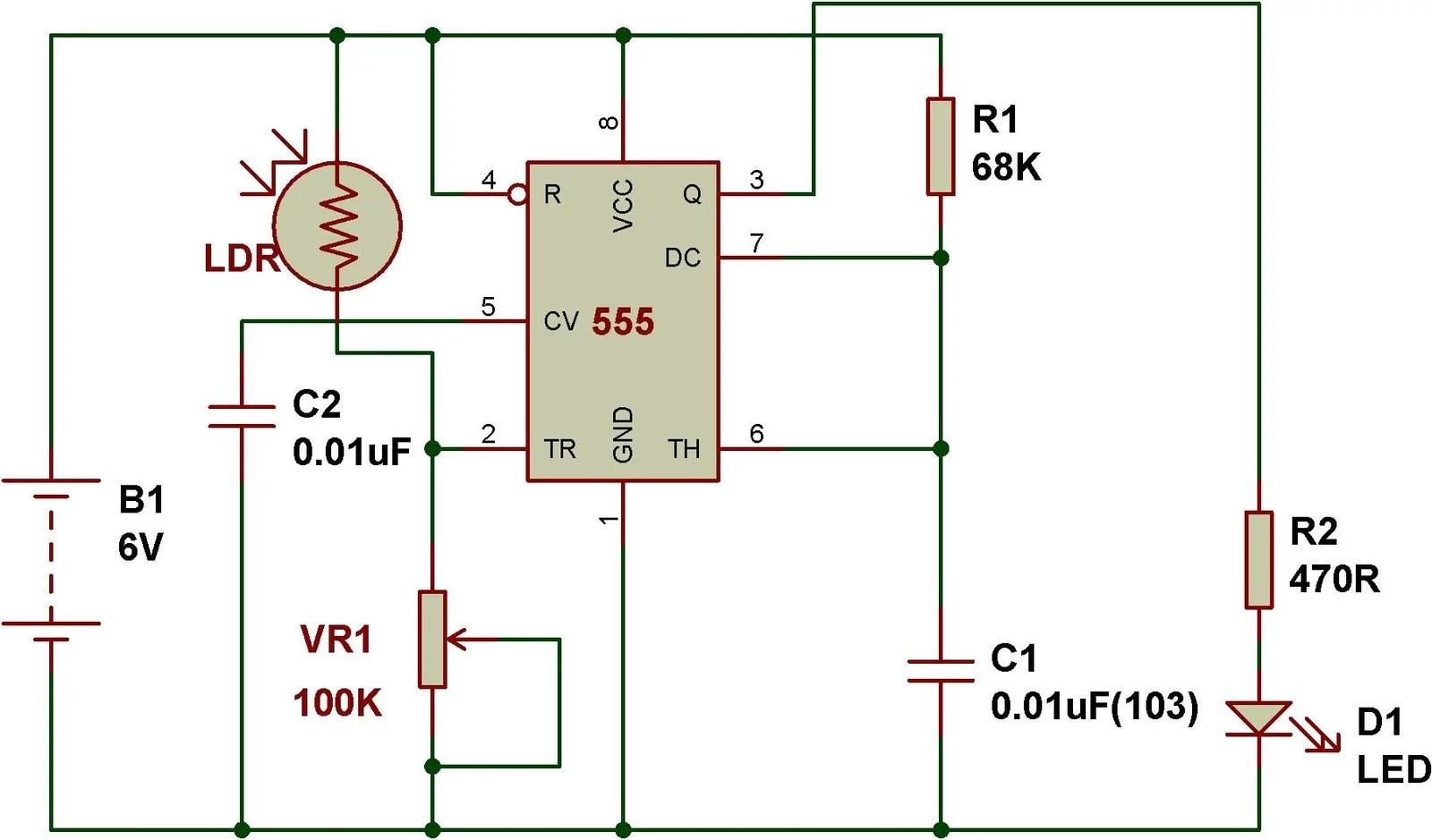 Timer Use Ic Ne555 Circuit Electronic Circuits Schematics Diagram