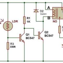 5 Pin Relay Circuit Diagram Trailer Plug Wiring 7 Way Uk How To Use A Buildcircuit Electronics Dark Sensor