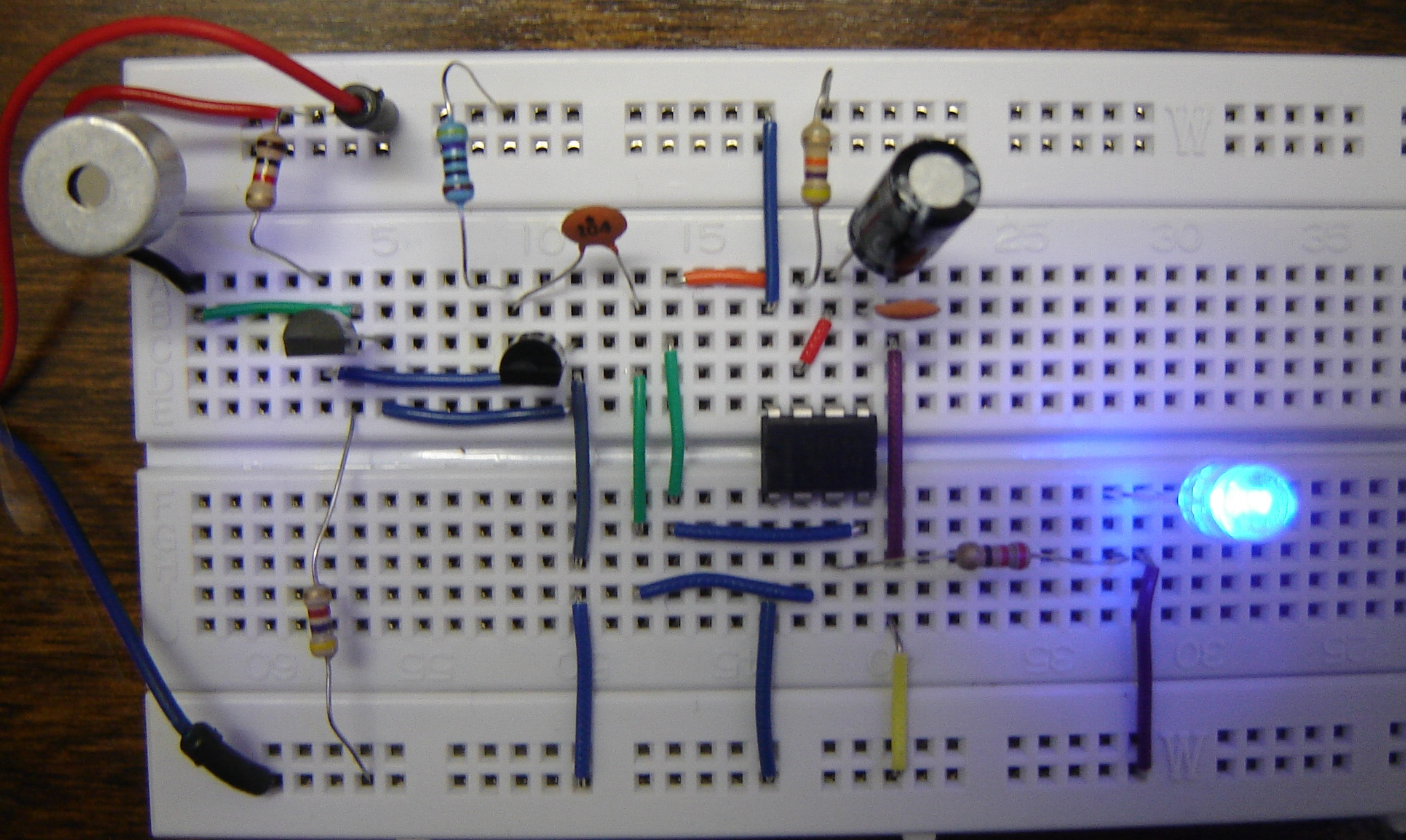 The Led Fader Circuit