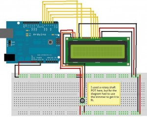 Connecting LCD to Arduino