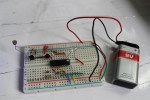 Light dependent blinker using LDR and CD4093