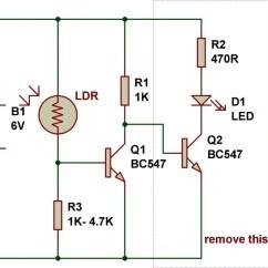 Light Sensitive Switch Circuit Diagram Spotlight Wiring For Landcruiser Sensor