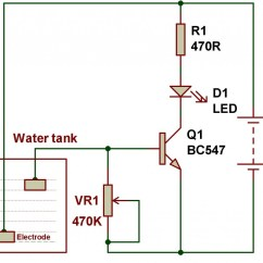 Liquid Level Controller Circuit Diagram Control 4 Lighting Wiring Of Water Indicator Using 555 Timer
