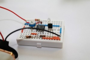 Experiments with LM358