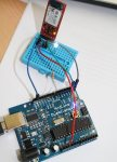 Amarino project- Arduino and Android based light sensor