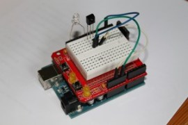Infrared sensor with PWM