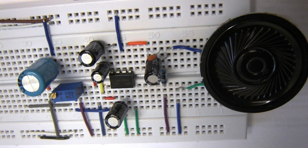 Fm Transmitter Projects And Breadboard Circuits Free