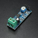 FM receiver kit and audio amplifier using LM386