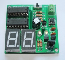 infrared based digital object counter (17)