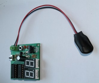 infrared based digital object counter (20)