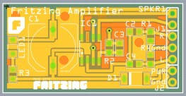 FritzingAmplifier_PCB