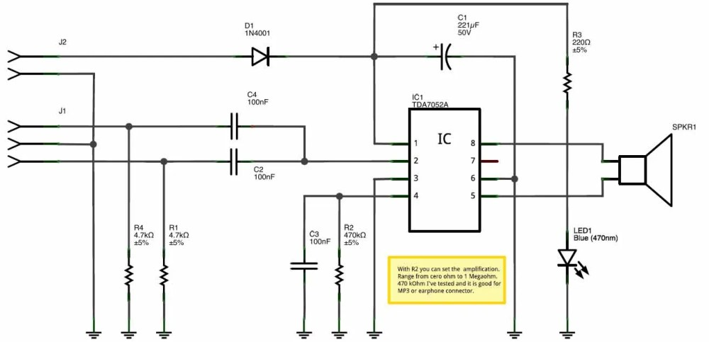 medium resolution of but microcontroller pin can only drive 20 ma to 40 ma so this project can solve this problem this amplifier can be used with music modules like wtv020sd