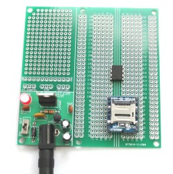 Protoboard for electronic projects