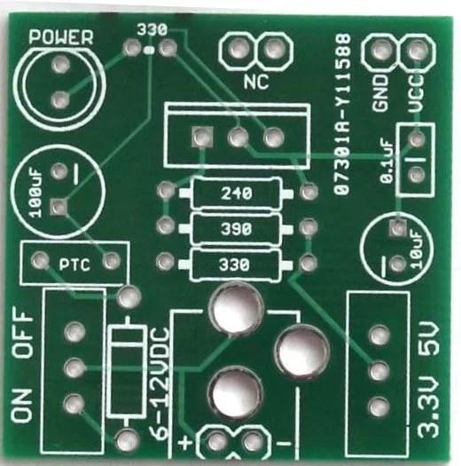 Buildcircuits Breadboard Power Supply Diy Kit Build Circuit