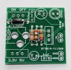 Step 2 Solder 1N4007 diode
