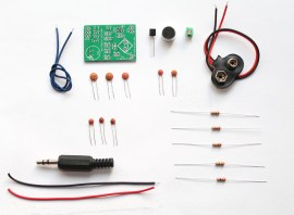 The simplest and the cheapest FM transmitter- Do-it-yourself(DIY) kit for amateurs