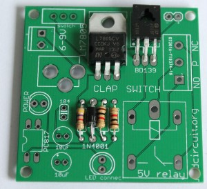 Step 3- Solder LM7805 and BD139