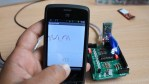 Amarino shield- CD4094 control with  Arduino- WITHOUT SMART PHONE