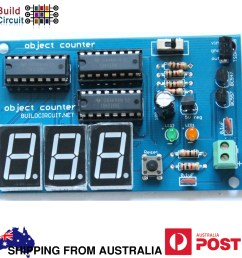 3 digit digital object counter diy kit [ 1000 x 1000 Pixel ]