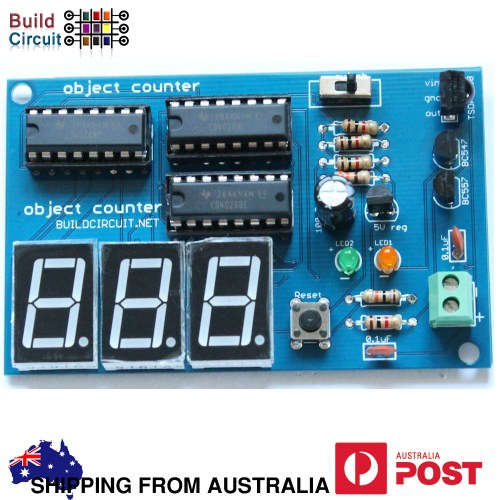 small resolution of 3 digit digital object counter diy kit