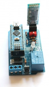 Step 14- Stack Bluetooth module and Arduino Nano
