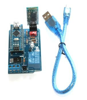 Cosmarino- A DIY kit for Android-Arduino communication