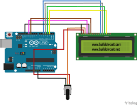 Arduino Project 9- 16x2 LCD and Arduino
