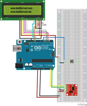 Arduino Project 13-Arduino RTC Time and Date Display on 16x2 LCD